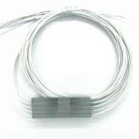 Steel Tube Type, PLC splitter ,1X16, SM, 0.5m length, Without Connector, 0.9 mm cable